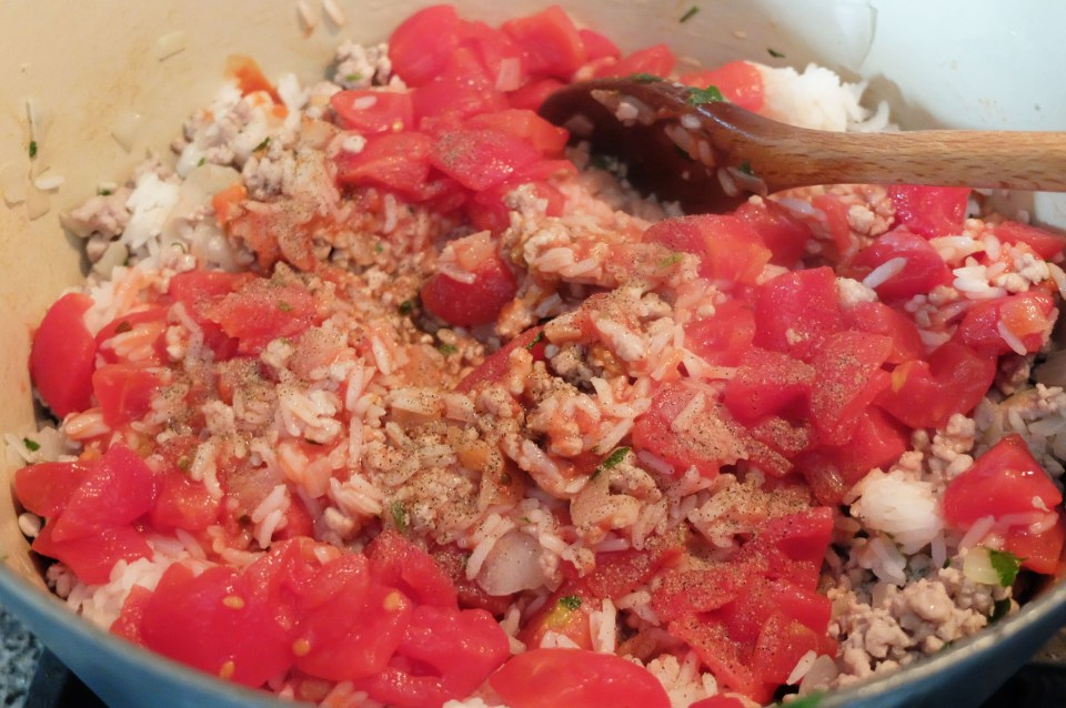 Cabbage Roll - stuffing 2