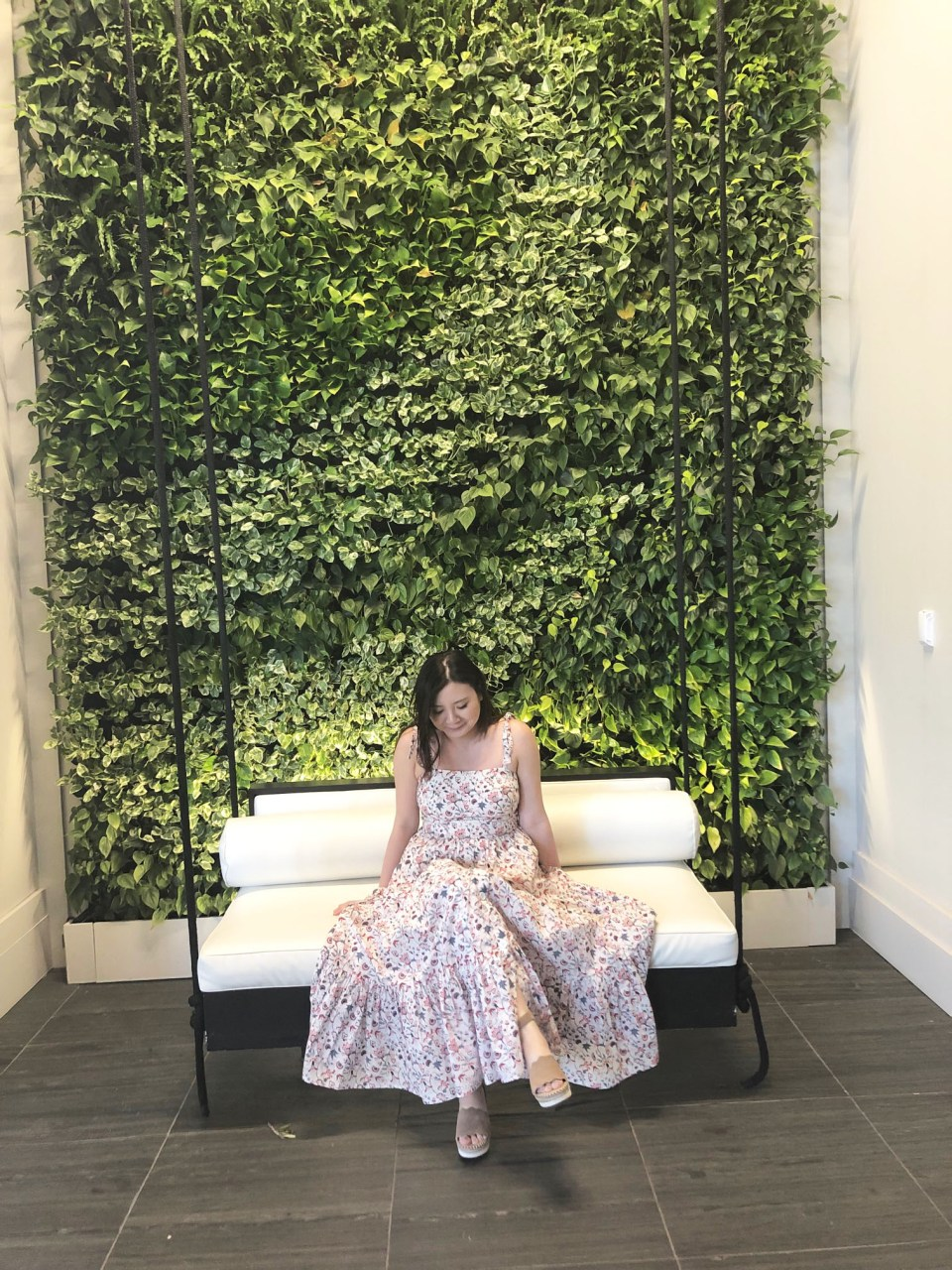 Floral Tiered Maxi Dress 10