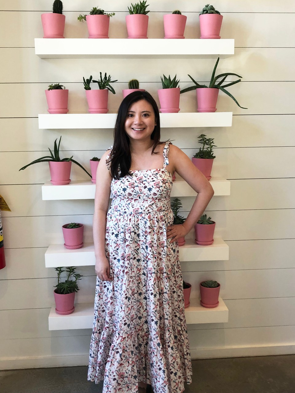 Floral Tiered Maxi Dress 3
