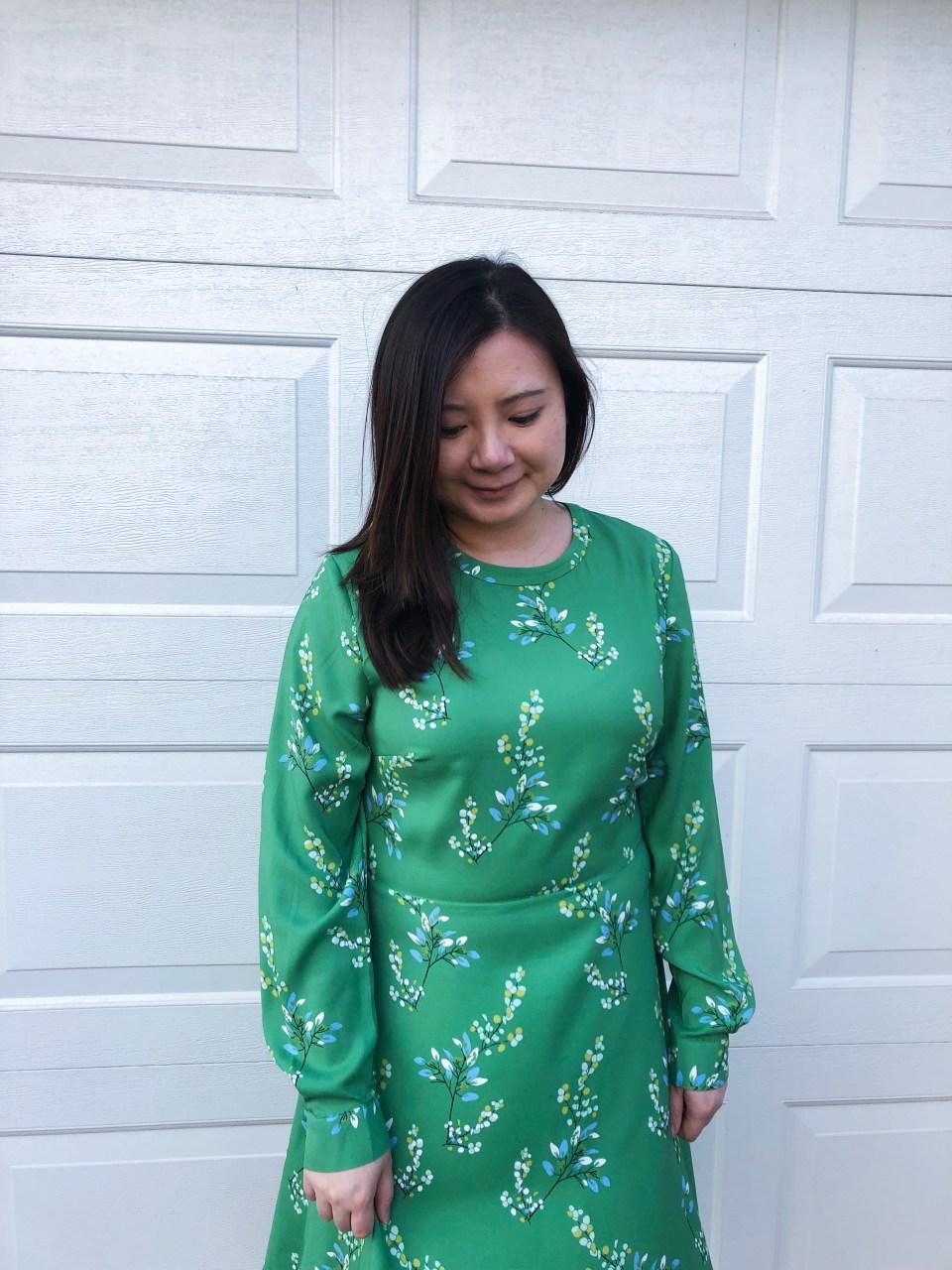 Flower Branch Dress 11