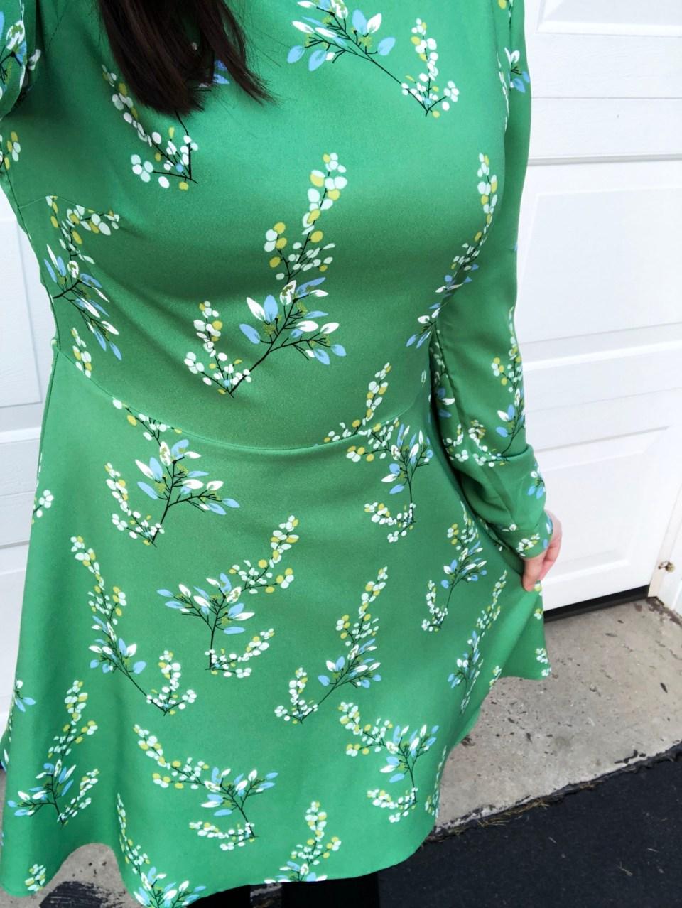 Flower Branch Dress 13