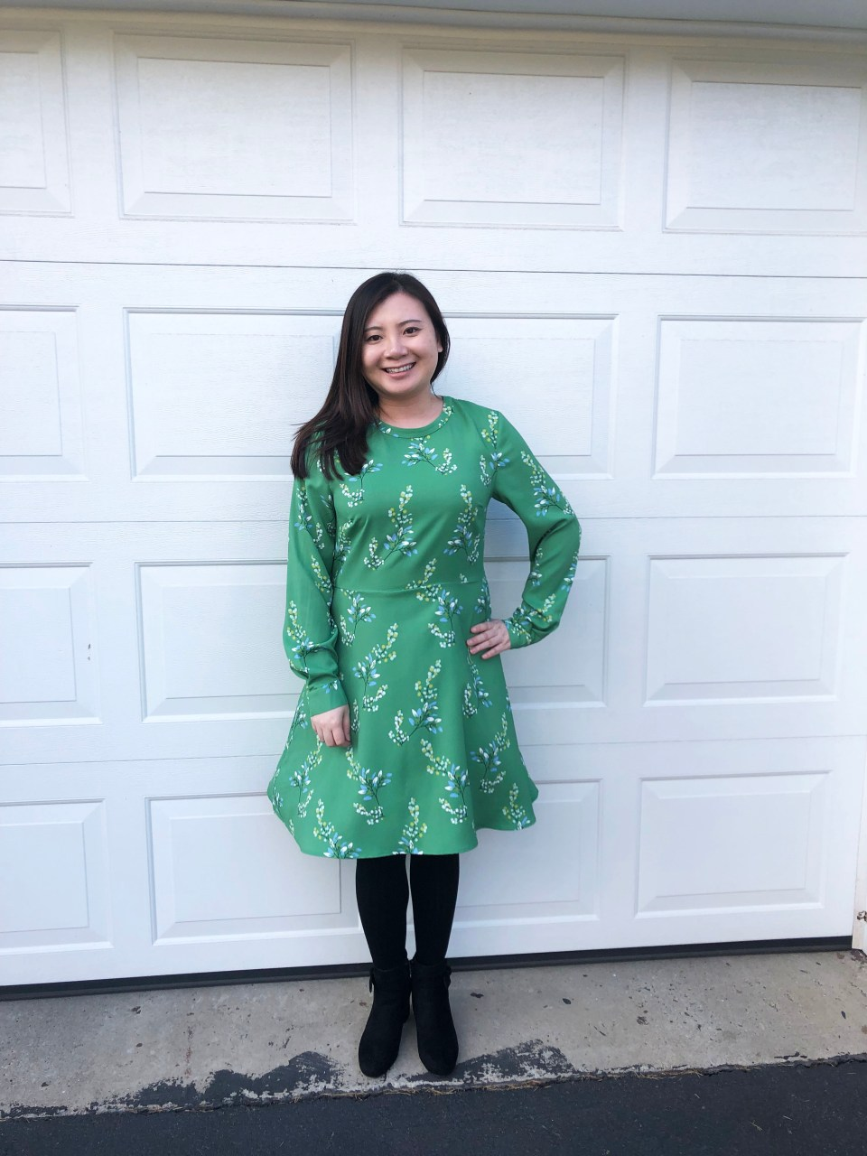 Flower Branch Dress 7