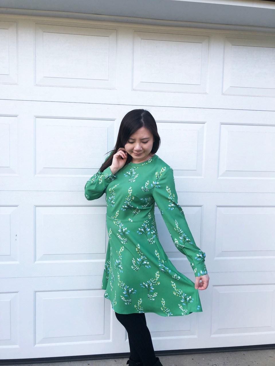 Flower Branch Dress 8