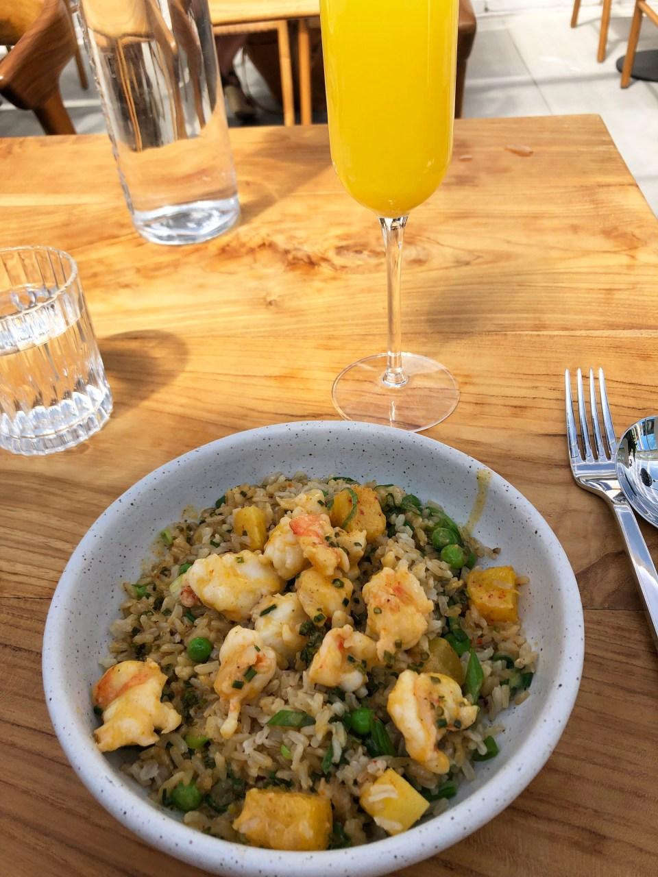 Lapeer - Chili-Garlic Shrimp & Brown Rice