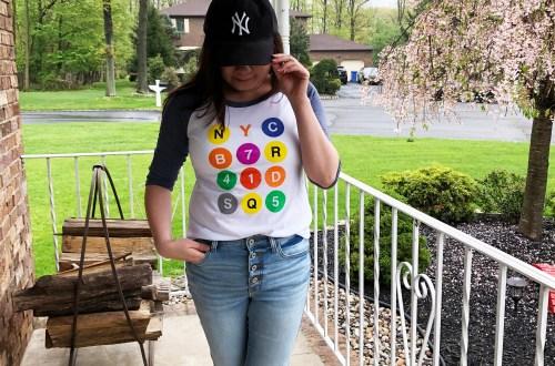 NYC Graphic Baseball Tee