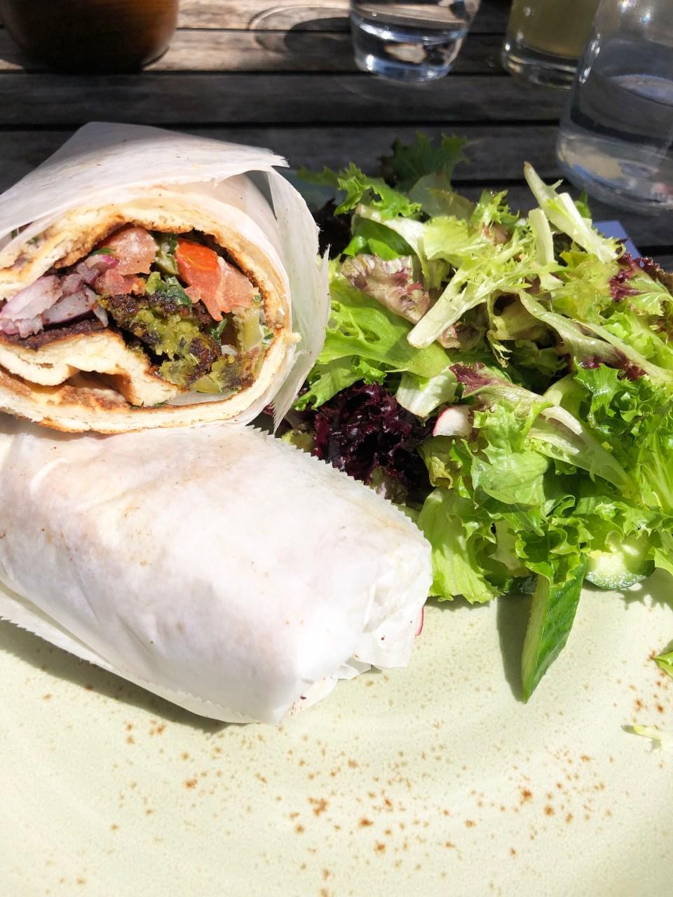 Rumi's Kitchen - Falafel Sandwich