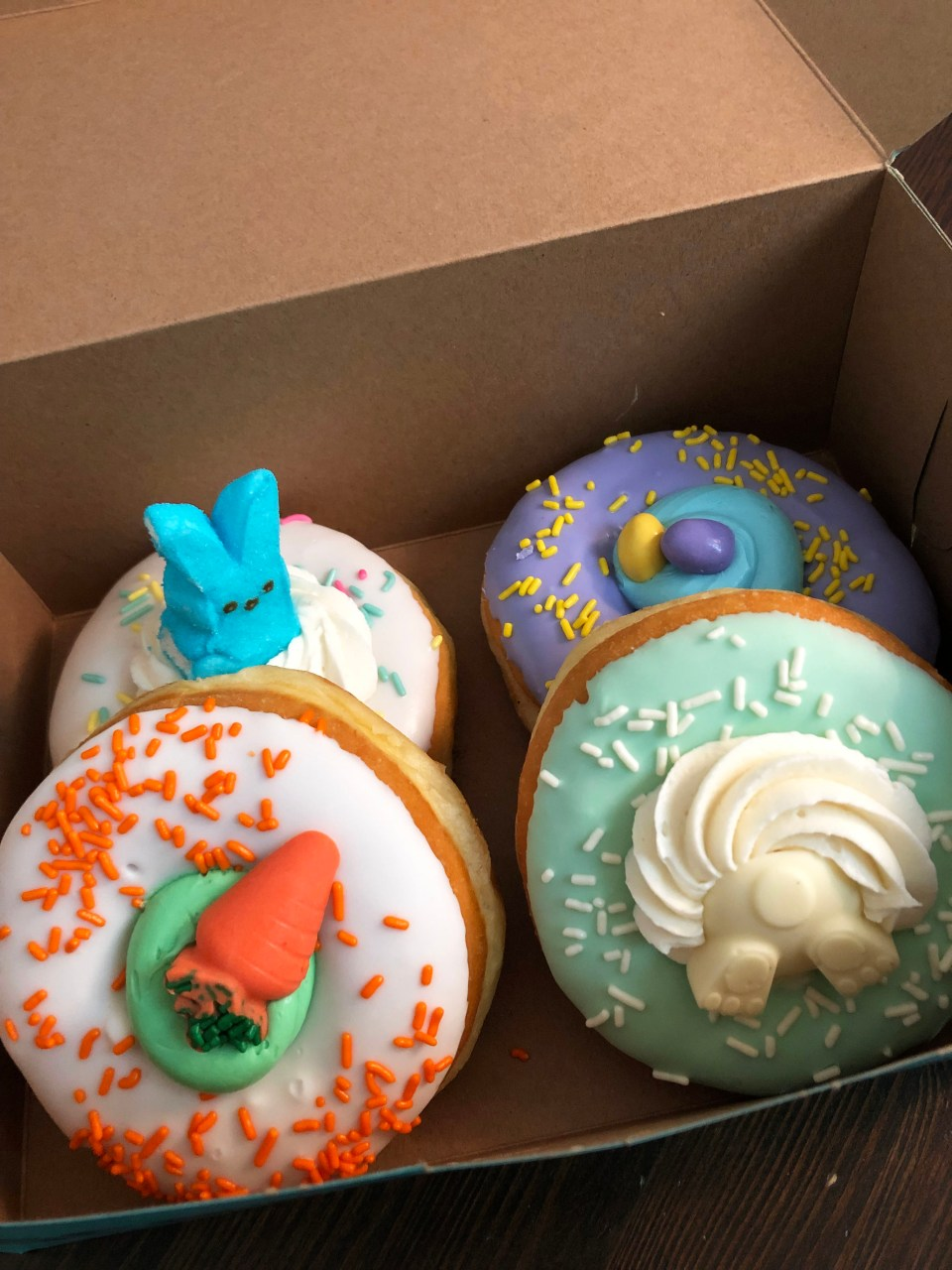 Scream'n Nuts - easter donuts 1