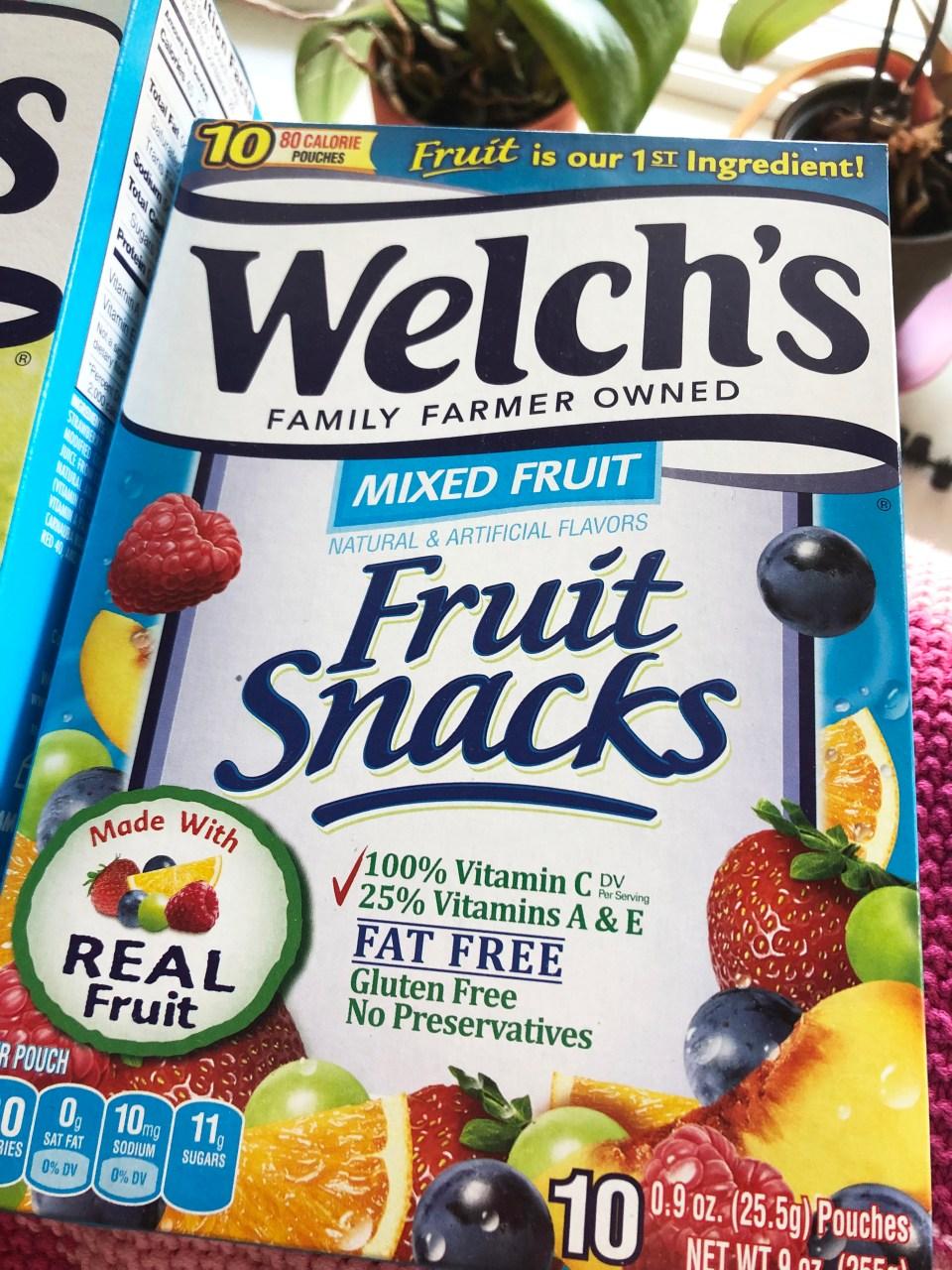 Welch's Fruit Snacks 1