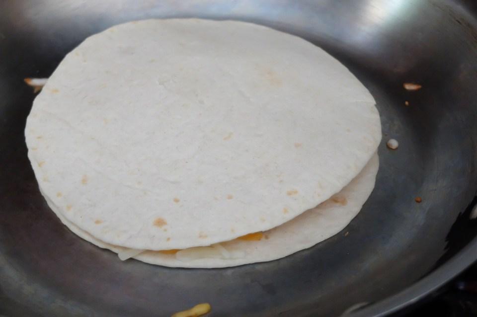 Copycat Taco Bell Chicken Quesdailla 1
