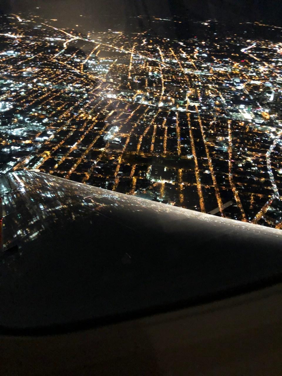 Toronto - plane window
