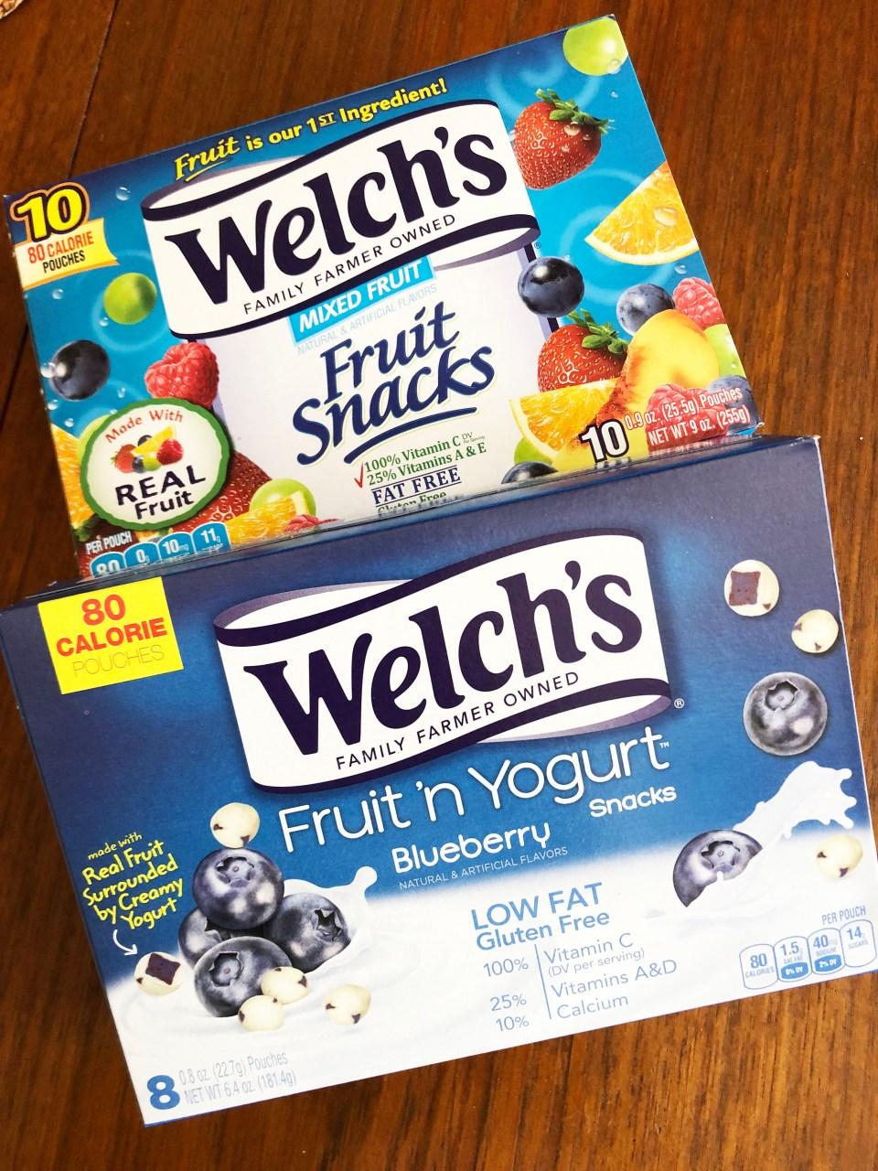 Welch's Fruit 'n Yogurt