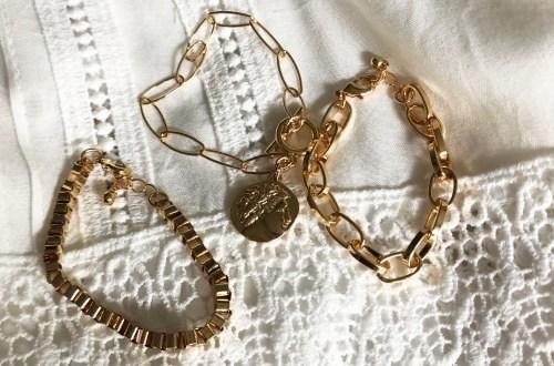 Dainty Gold Bracelet Stack