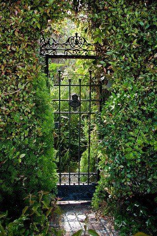 secret garden - gate