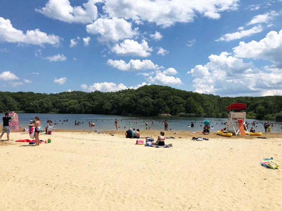Hooks Creek Lake 1