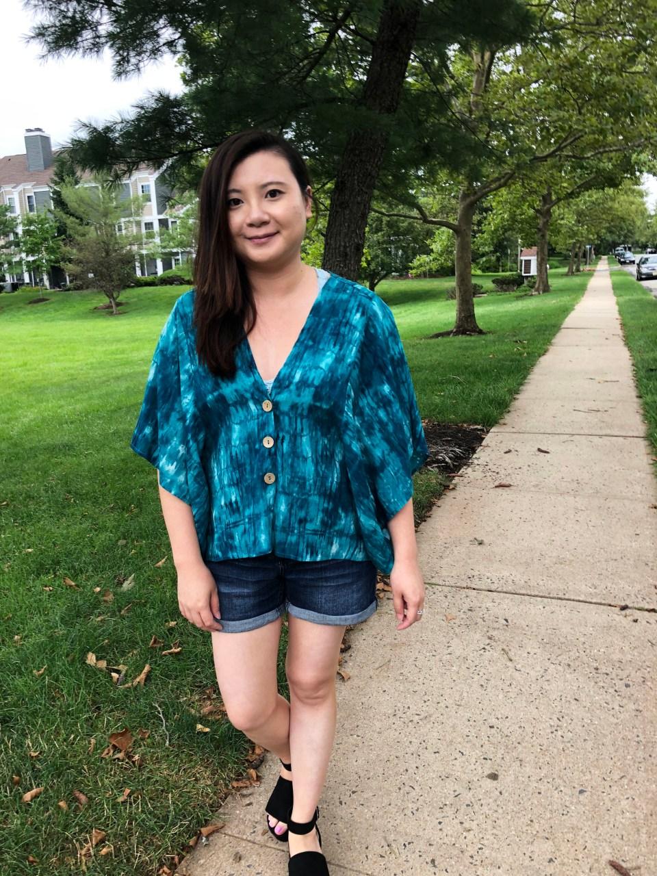 Tie Dye Kimono Top 11