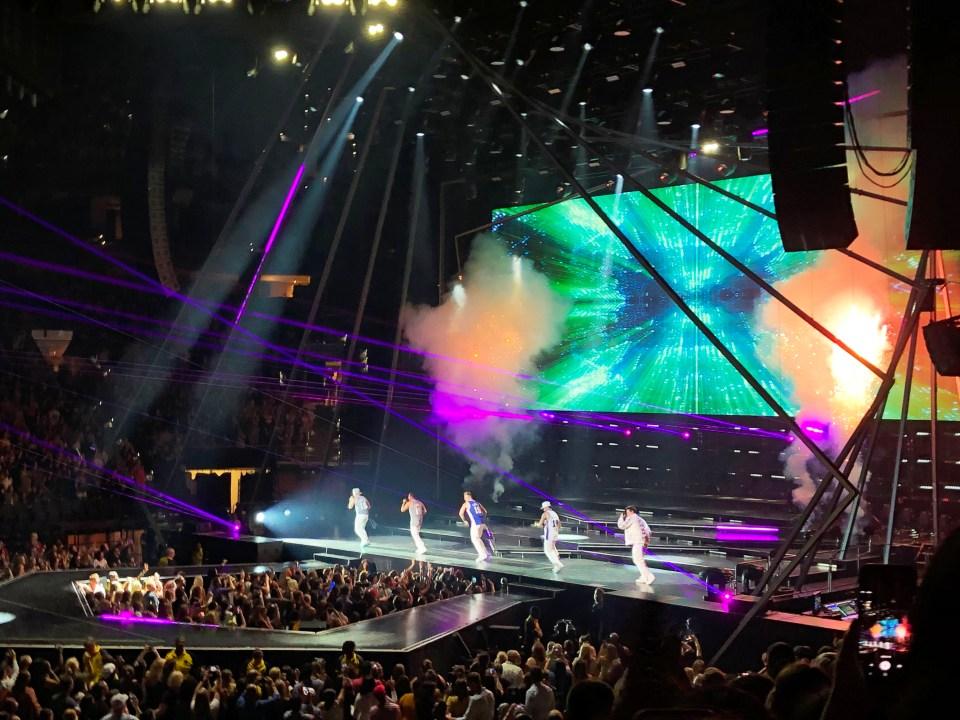 Backstreet Boys Concert 12