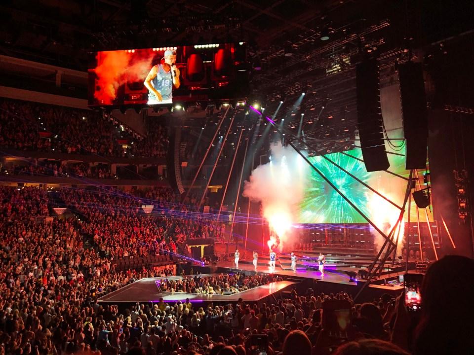 Backstreet Boys Concert 13