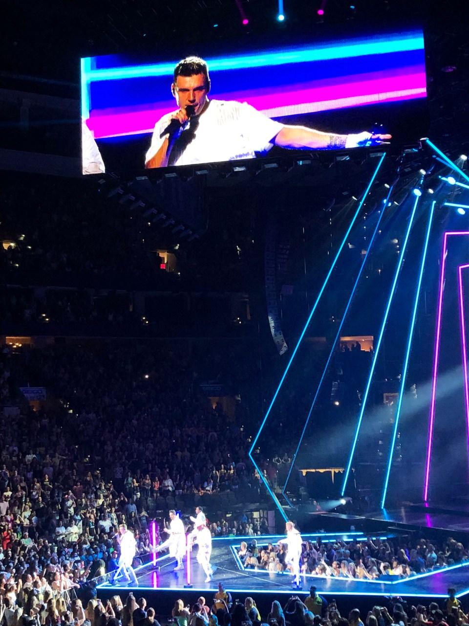 Backstreet Boys Concert 9