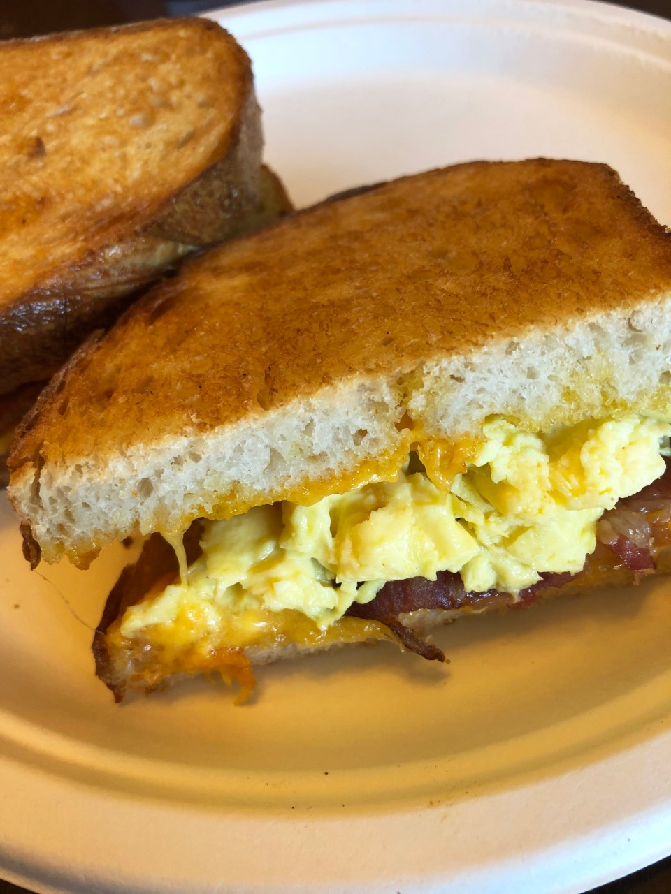 Boudin - Breakfast Sandwich