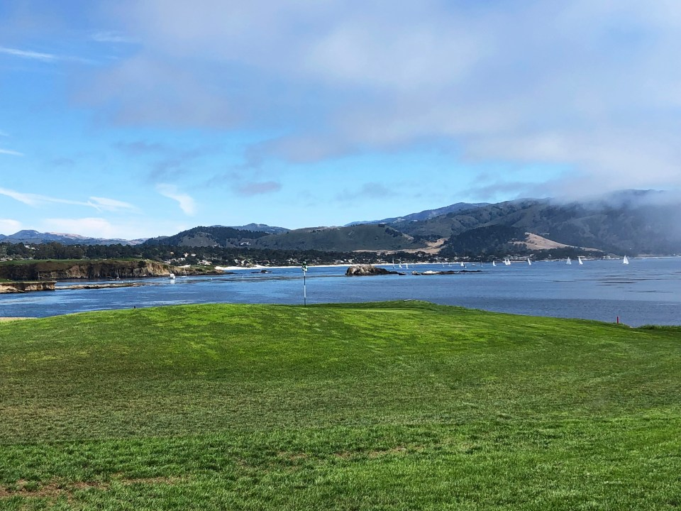 Pebble Beach Golf Course - 18th Hole 3