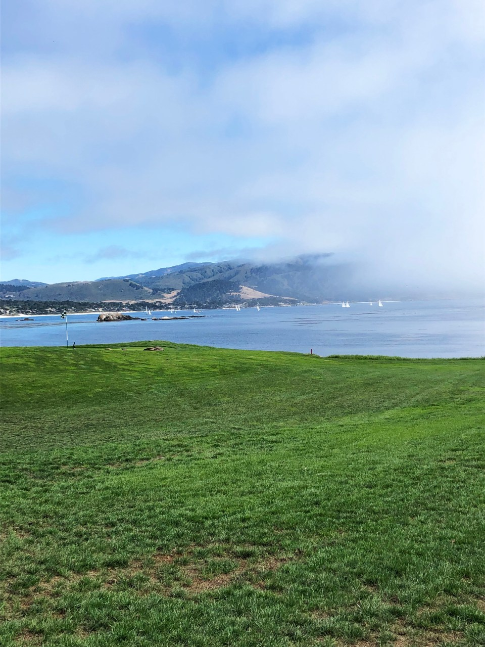 Pebble Beach Golf Course - 18th Hole 4
