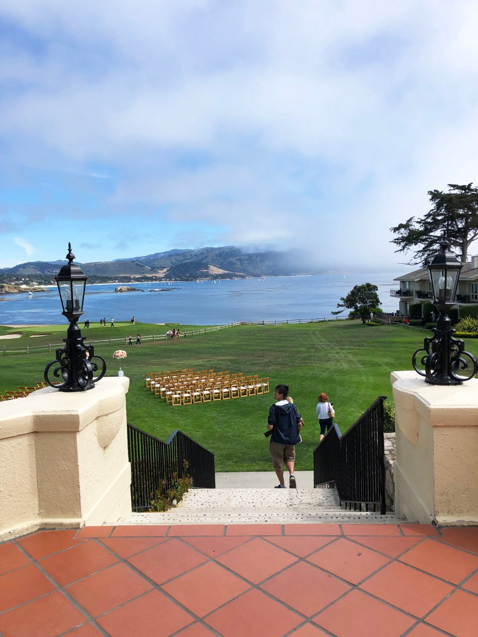 Pebble Beach Golf Course - 18th Hole
