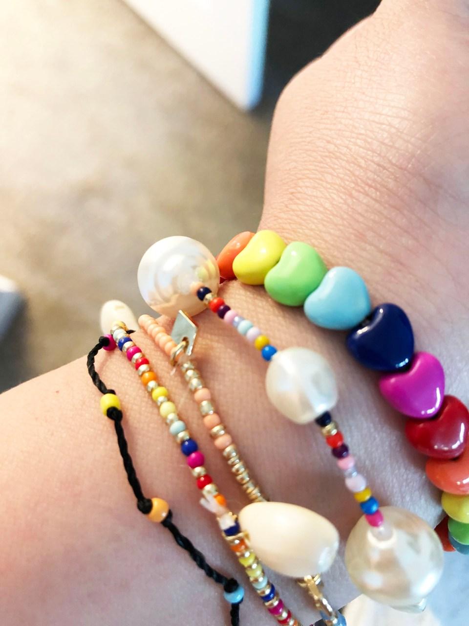 Summer Bracelet Stack 6
