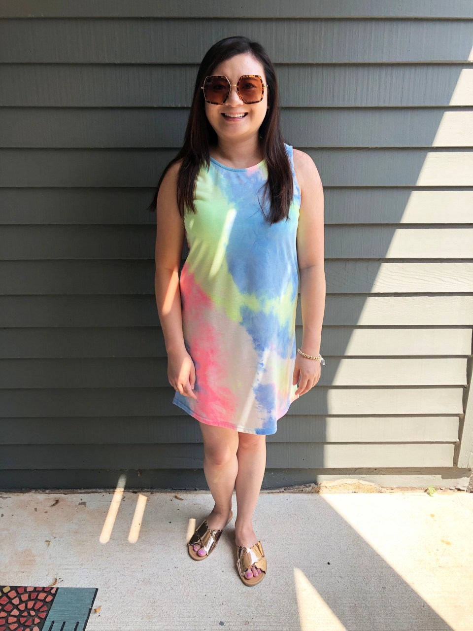 Tie Dye Dress 11