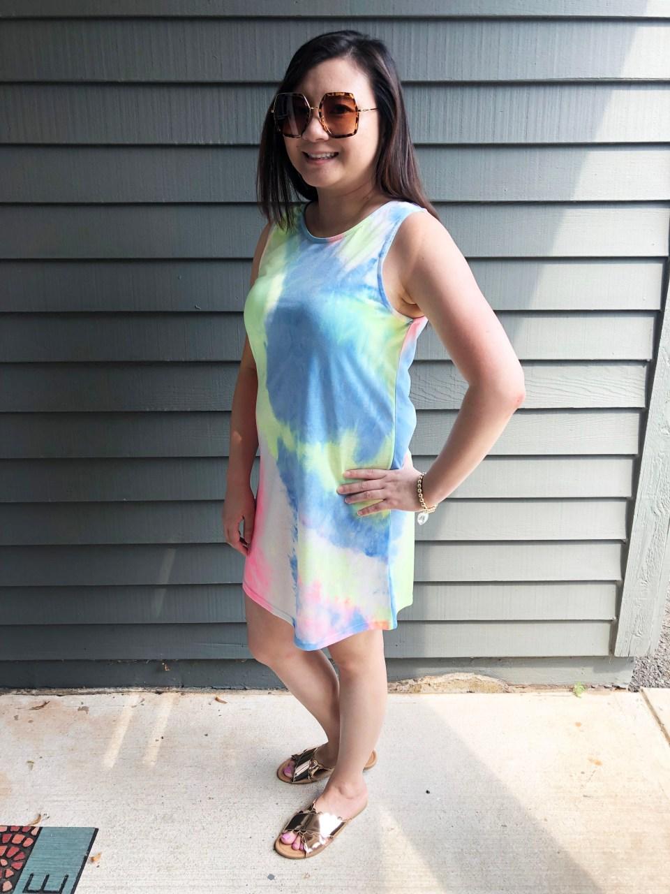 Tie Dye Dress 5