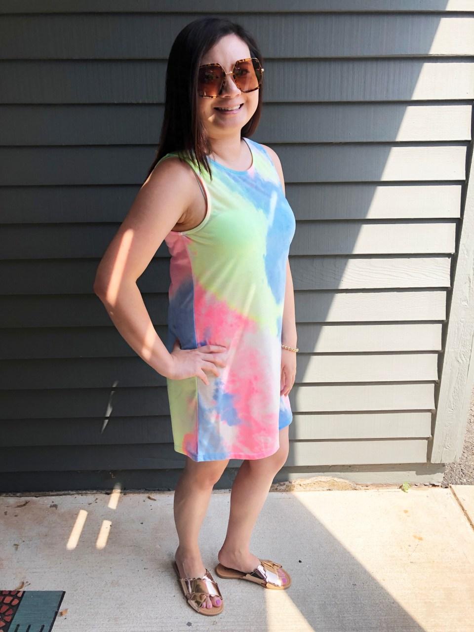 Tie Dye Dress 7