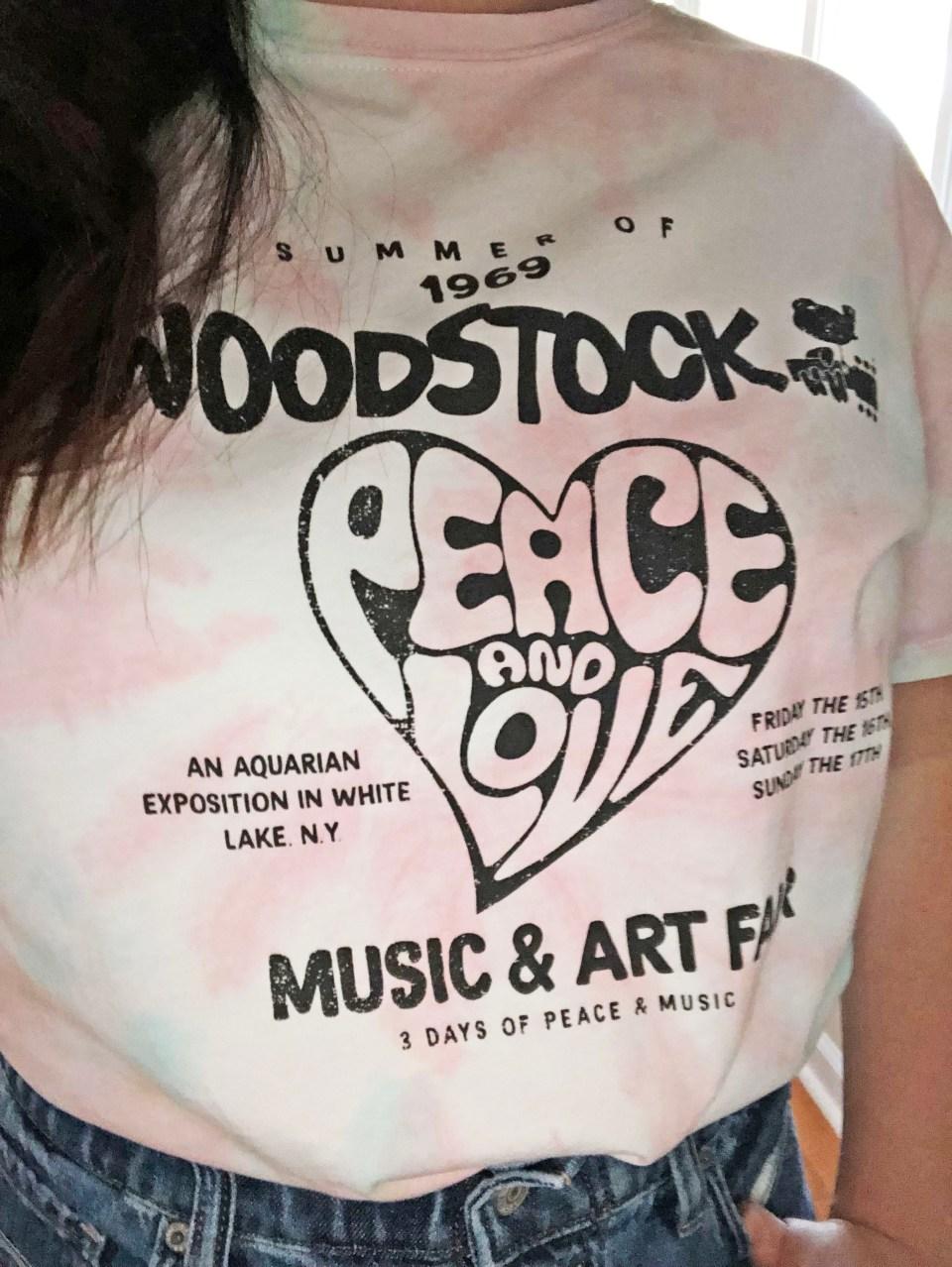 Woodstock Tie Dye Tee 14