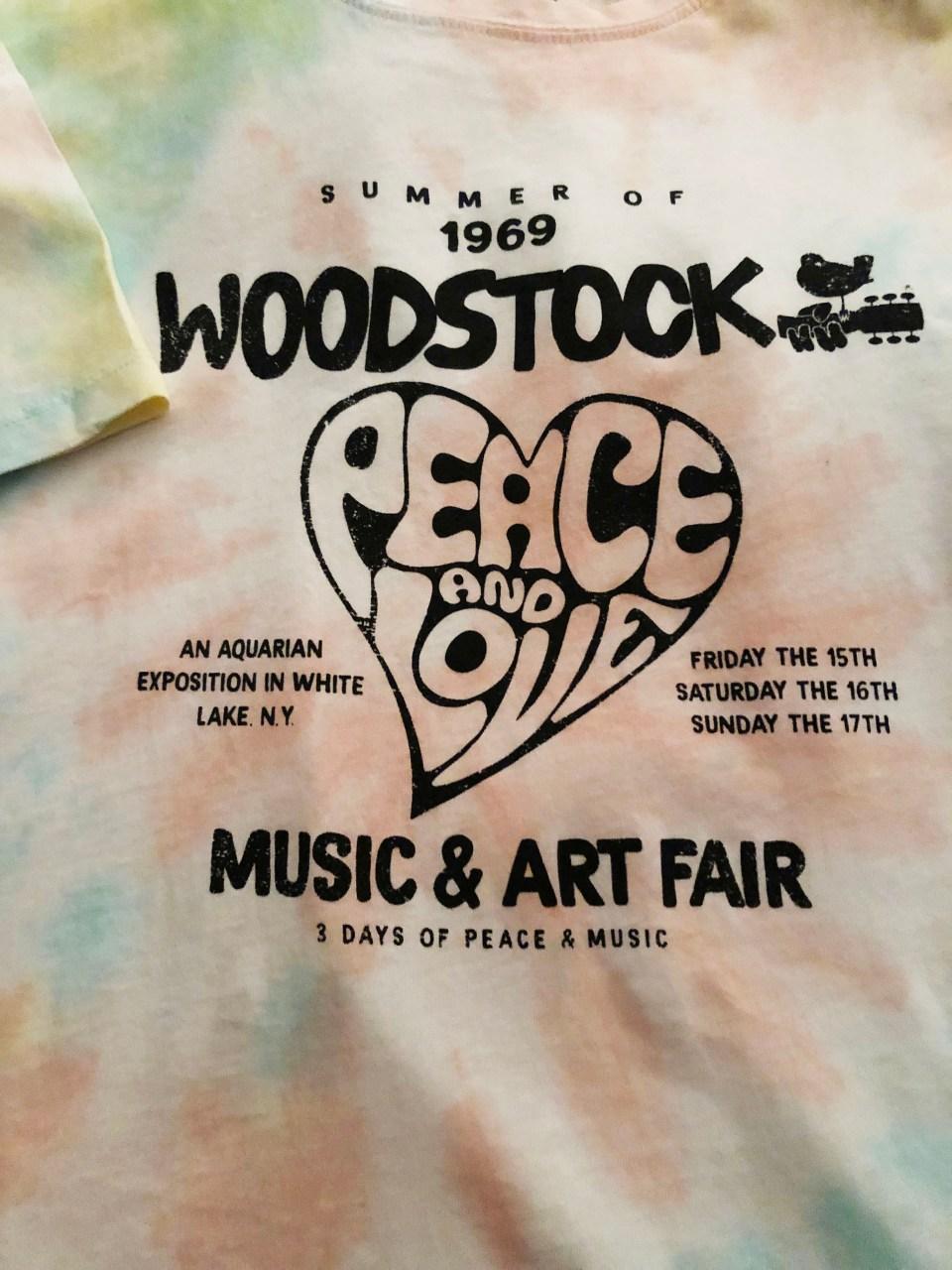 Woodstock Tie Dye Tee 15