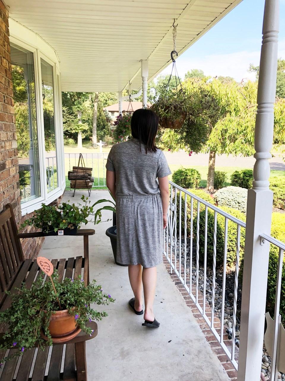 Brushmarl Drawstring Dress 3