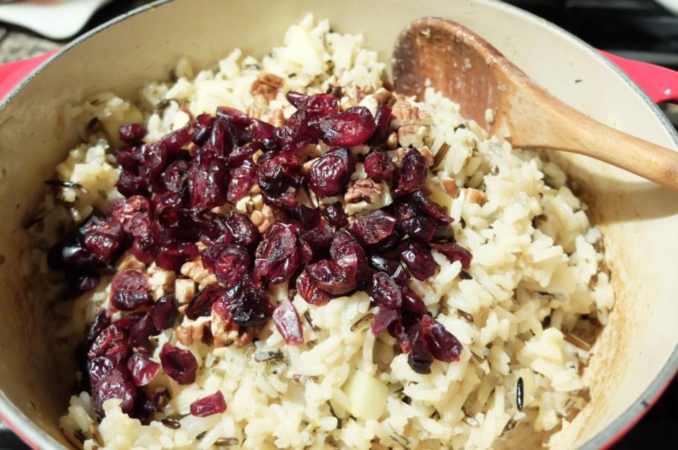 Cranberry Apple Pecan Wild Rice 10