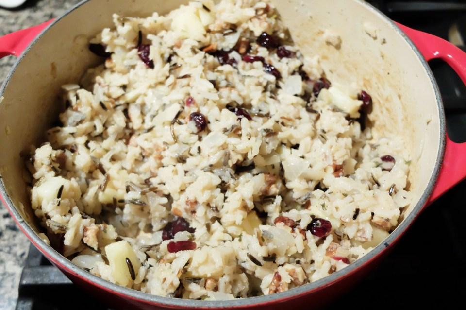 Cranberry Apple Pecan Wild Rice 11