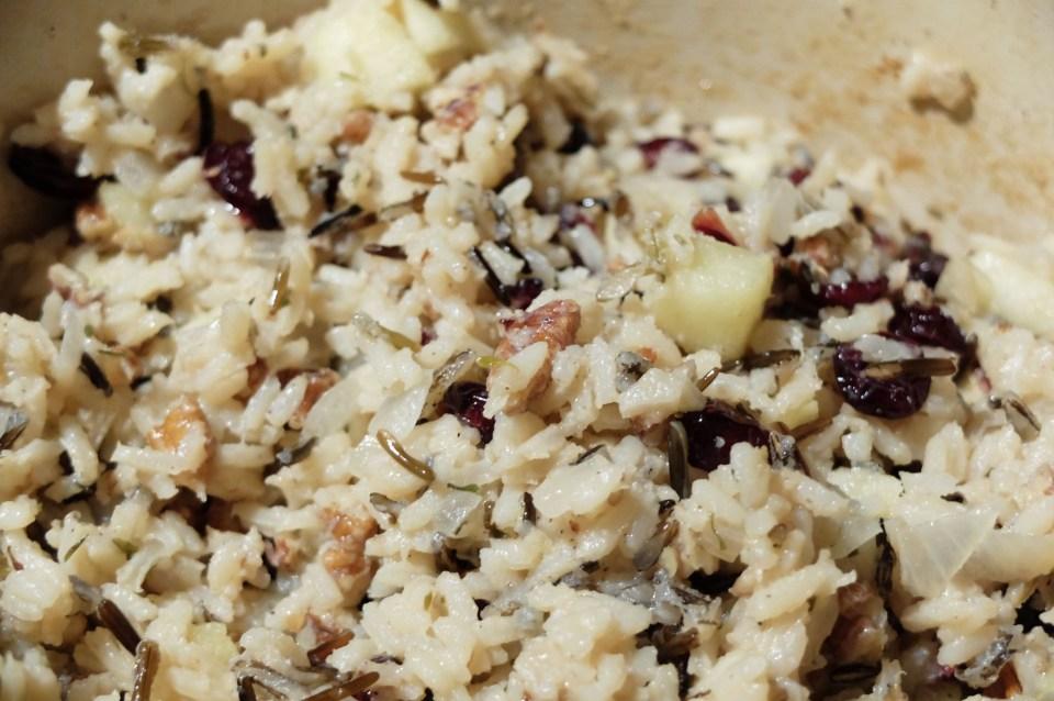 Cranberry Apple Pecan Wild Rice 13