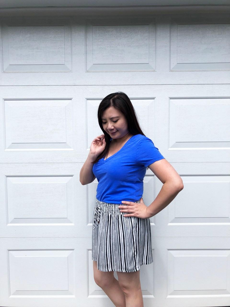 Gauze Striped Shorts 2