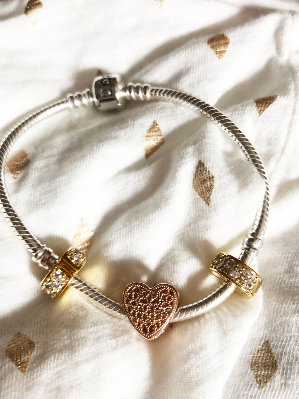 Pandora Bracelet - Filled with Romance Charm 3