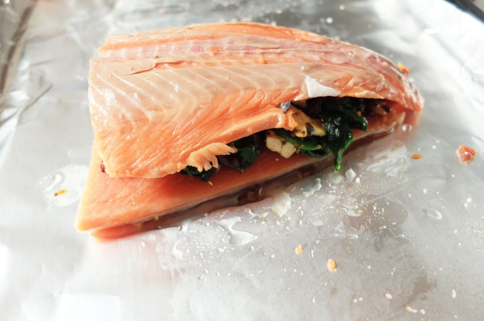 Stuffed Salmon 8