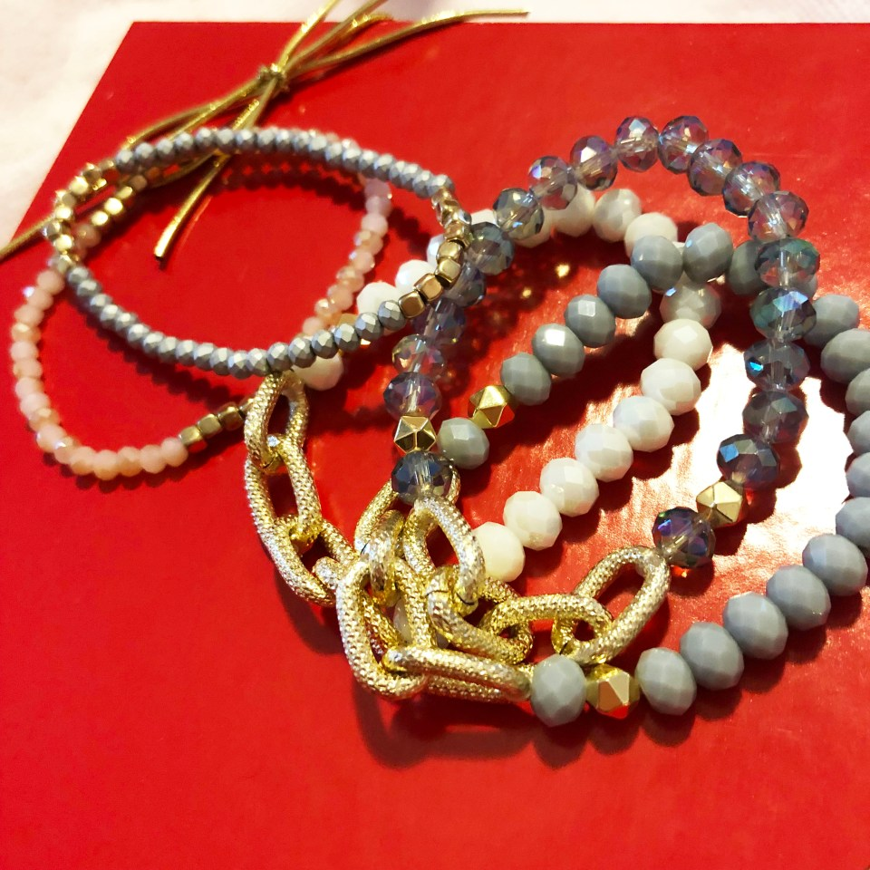 The Styled Collection - Beaded Bracelet Stack 1