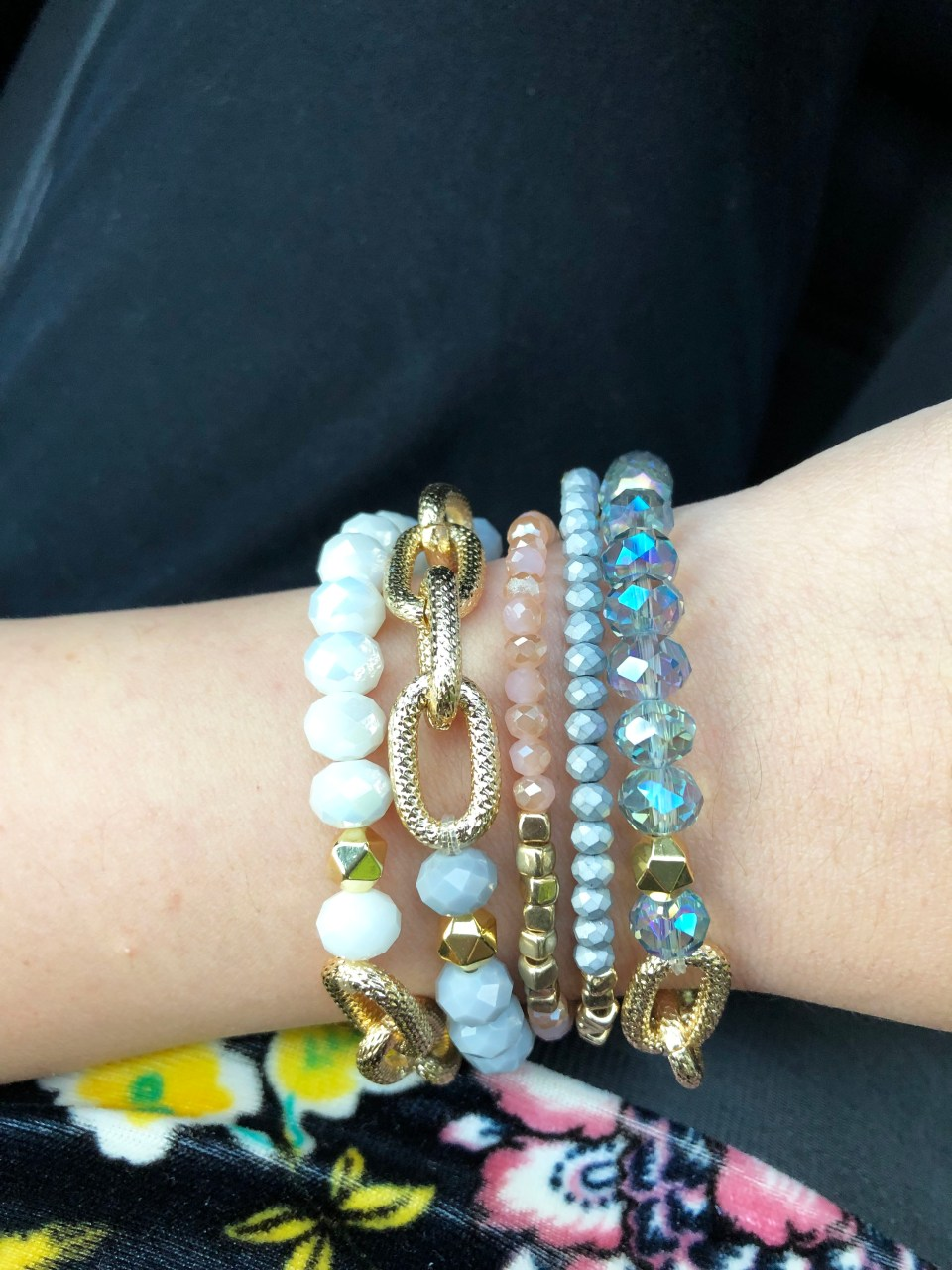 The Styled Collection - Beaded Bracelet Stack 9