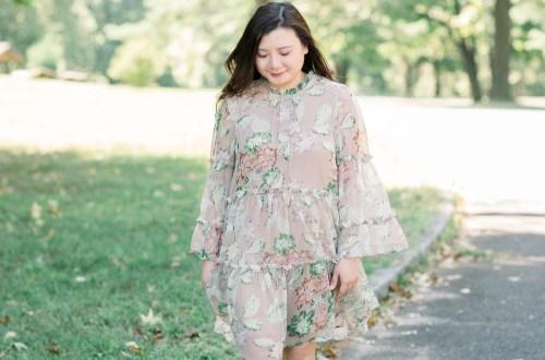 Eden Bloom Mini Dress