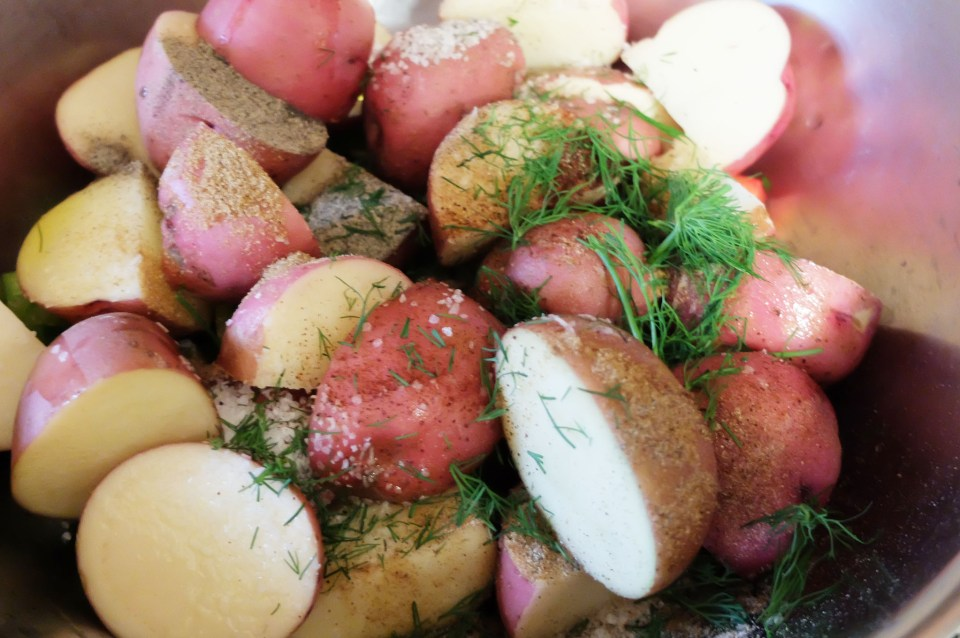Roasted Potato Salad 1