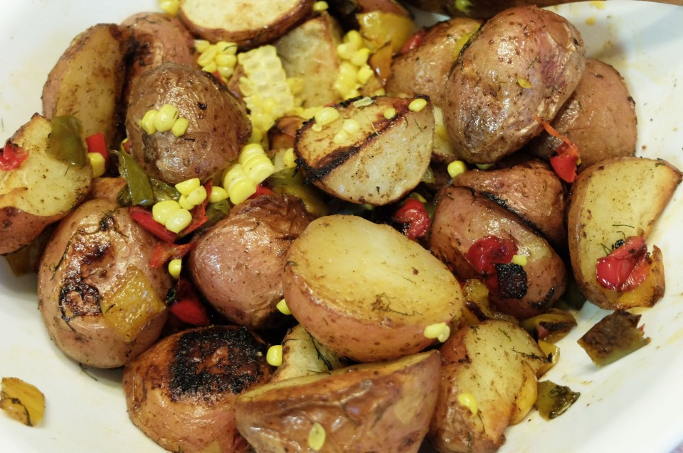 Roasted Potato Salad 6
