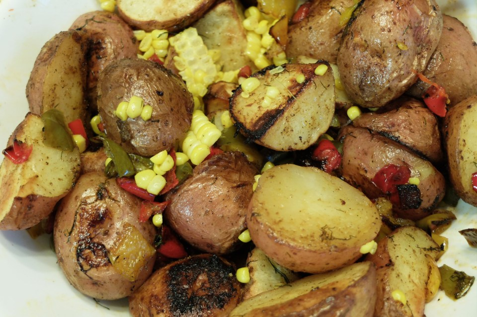 Roasted Potato Salad 7
