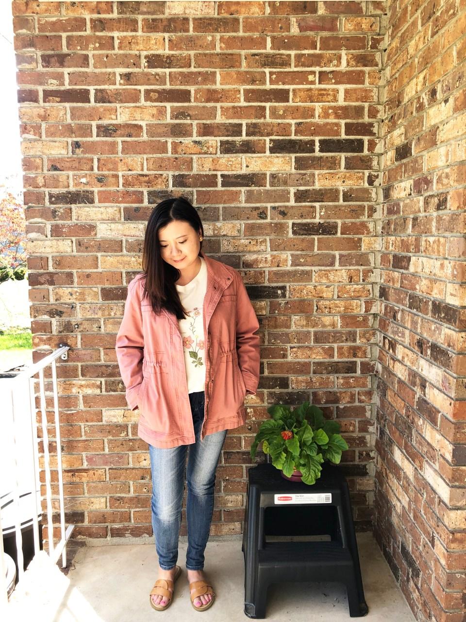 Rose Utility Jacket 1