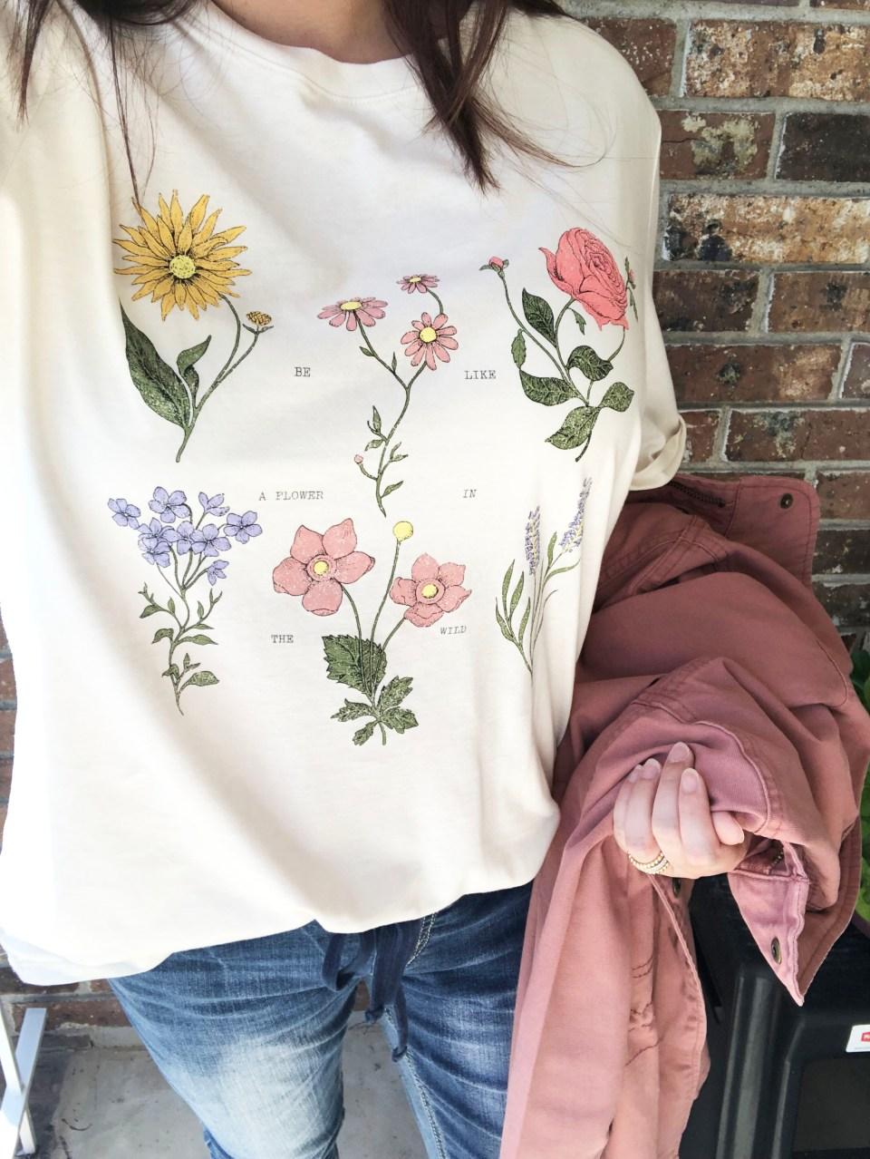 Vintage Blooms Tee 9