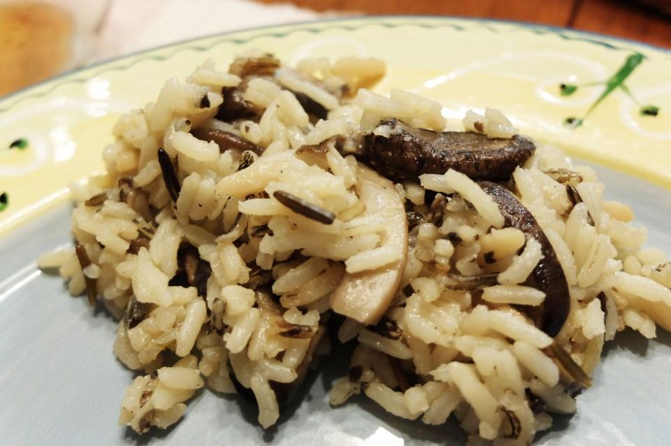 Wild Rice & Mushroom Pilaf 9