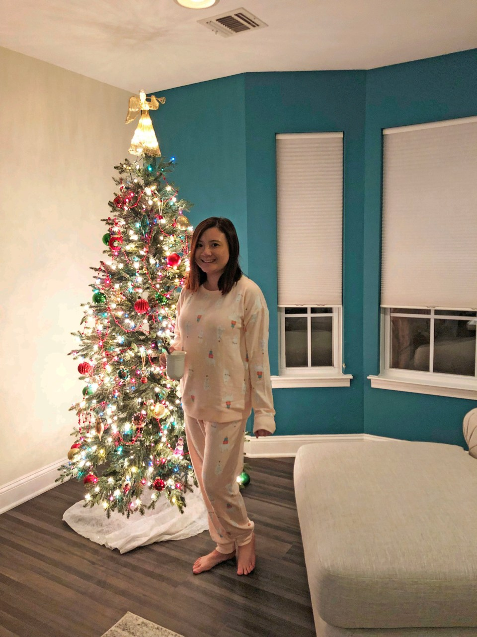 Holiday Polar Bear Pajama Set 5