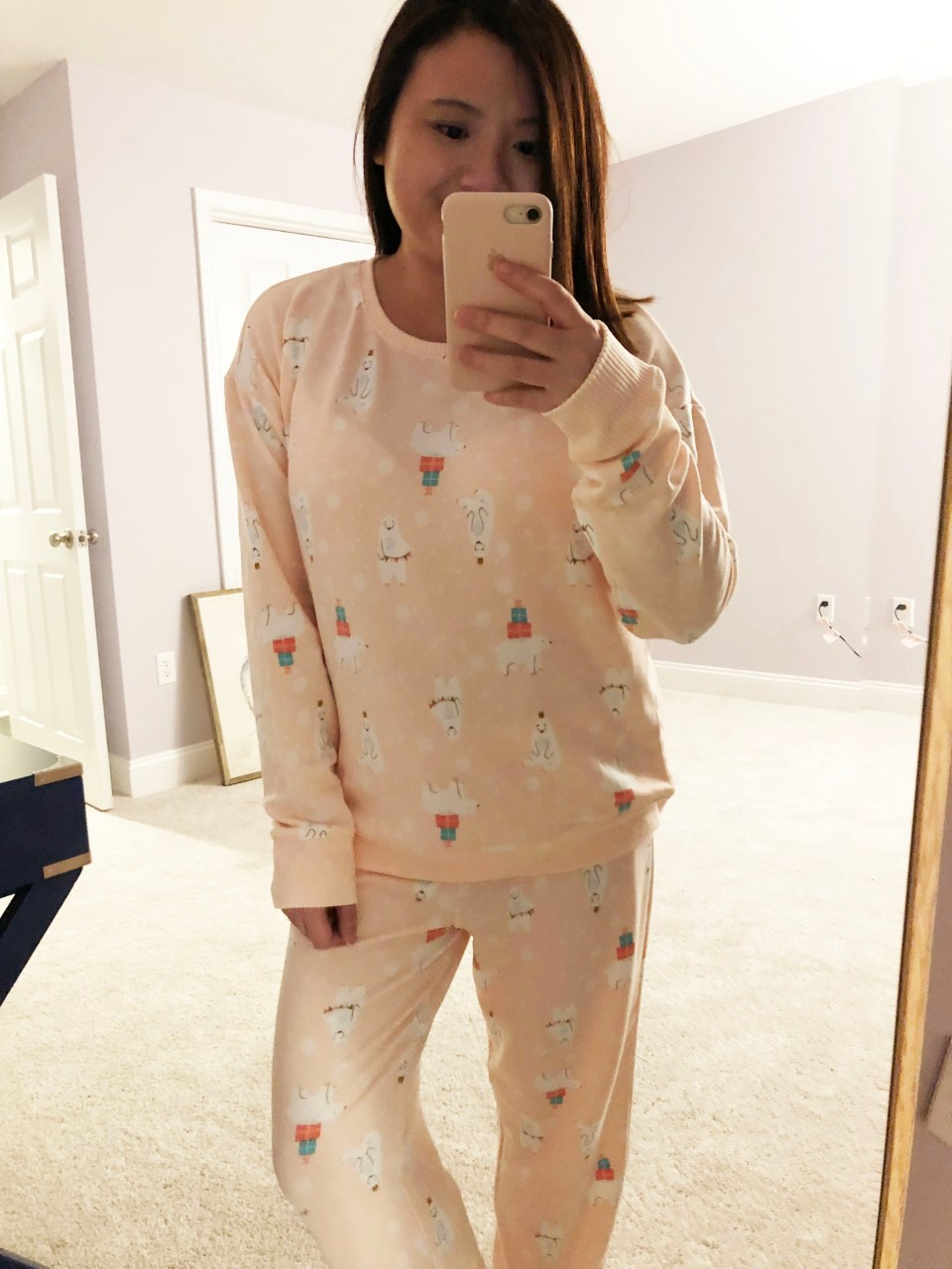 Holiday Polar Bear Pajama Set
